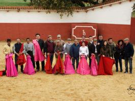 Aficionados prácticos de Extremadura y Madrid en Peñasblancas (FOTO: Francisco)